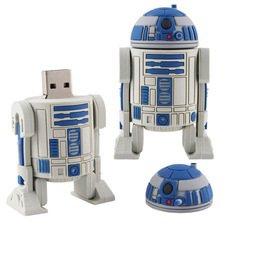 Pen drive Star wars R2D2 Robot 4 gb  usb 2.0