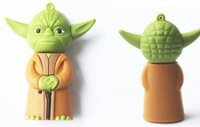 Pen Drive Star Wars Yoda warrior 8 GB Usb Flash
