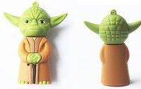 Pen Drive Star Wars Yoda warrior 16 GB Usb Flash