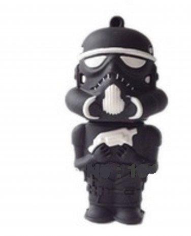 Pen Drive Star wars stromtrooper black 4 GB Usb