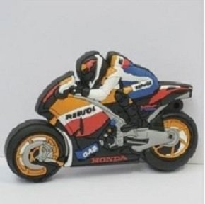 Motorcycle mini USB Flash Drive format 4 GB USB Drive USB 2.0 pen drive