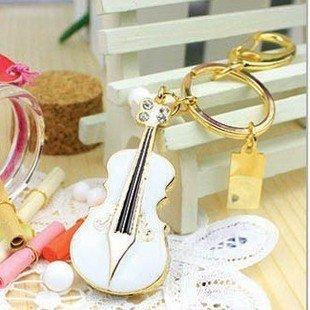 crystal violin 8 GB white Pen Drive USB Flash Drive Pen PC Free Shipping