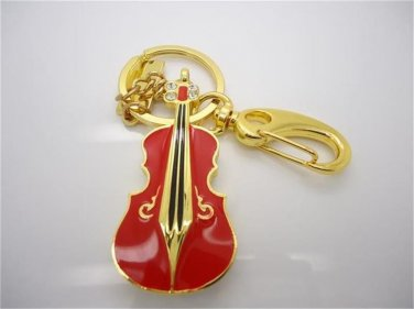 crystal violin 8 GB red Pen Drive USB Flash Drive Pen PC Free Shippin15