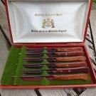 Buck Cased Sheffield Stainless Steel Steak Knife Made in England