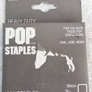 HEAVY DUTY POP STAPLES 3/8 in 10mm Emhart #300-6