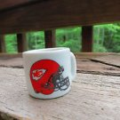 FOOTBALL FANS!! KANSAS CITY CHIEFS  NFL TINY SMALL MINIATURE MUG - HELMET LOGO