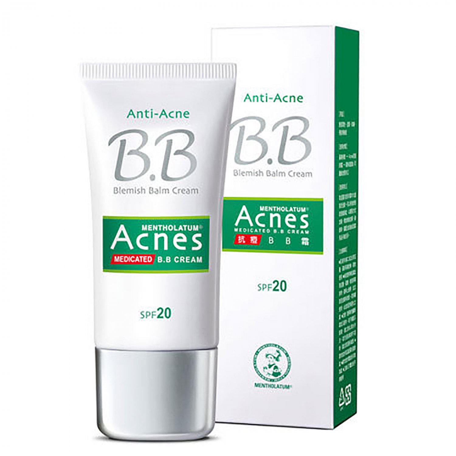 mentholatum acnes medicated anti acne bb cream with spf20 30g. Black Bedroom Furniture Sets. Home Design Ideas