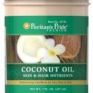 Puritan's Pride Coconut Oil For Skin and Hair (7 fl oz)
