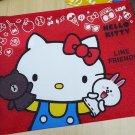 SANRIO HELLO KITTY x LINE FRIENDS Storage Bag  - RED