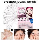 Eyebrow Guide Template