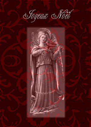 Medieval Angel Christmas Cards - 8 to a box