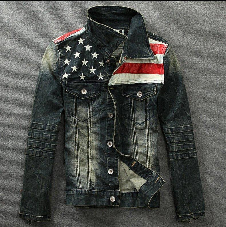 men denim jacket online shopping trendy clothes jean jacket mens