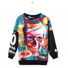 HIGH QUALITY comfortably Men cool TEE Skull LOGO SHIRT Long Sleeve