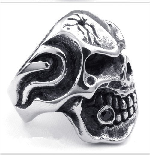 titanium rings for men skull cool Finger Rings personalized gifts
