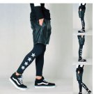3M reflective fashion mens sports leggings hiphop mens tights and leggings  jogger pants