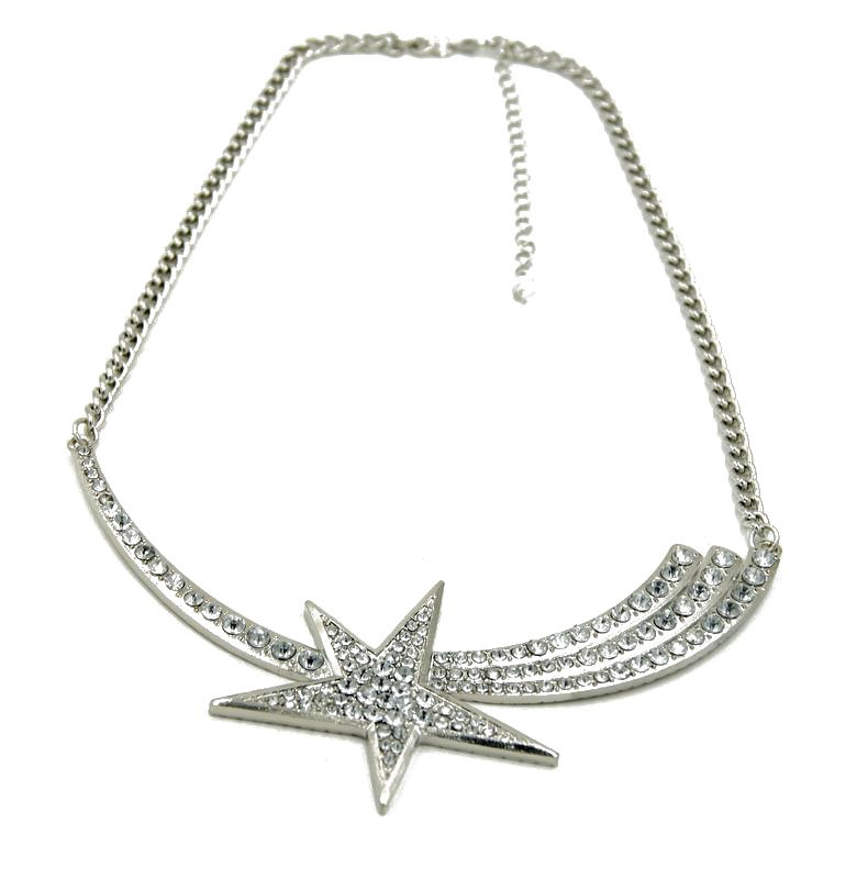 fashion jewelry cross charm chain necklaces star pendants  for women gifts daily party causal