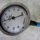 Ashcroft Plus! Performance Vacuum Pressure Gauge, -30 In Hg To +30 PSI Range