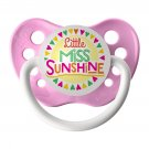 Little Miss Sunshine Pacifier - Ulubulu - Girls - Pink - 0-6 months Binky