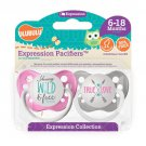 Young, Wild & Free Pacifier and True Love Pacifier Set - Girls - 6+ months - Ulubulu