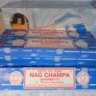 NAG CHAMPA INCENSE Sticks Hand Rolled NATURAL Herbs Oils Resins Flowers (#28525)