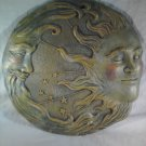 CELESTIAL WALL PLAQUE Or Garden Decor Stepping Stone Sun Moon Stars (#32269)