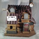 Bed & Breakfast BIRDHOUSE Garden Decor BIRDS Bird House (#37920)