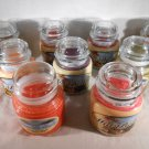 SCENTED Jar CANDLES Clove Tea Coffee Sweet Orange Chili Pepper Mia Bella's