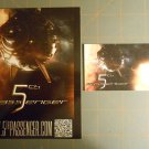 5TH PASSENGER Movie Promo Cards WONDERCON 2013 Fifth Passenger SDCC