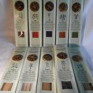 Chinese ZODIAC INCENSE Sticks With Burner Holder ZEN SCENTS Fragrance (#33007)