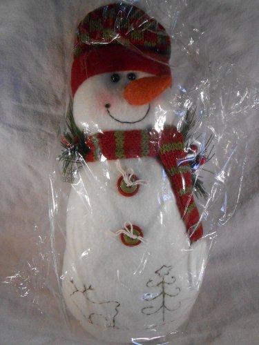 CHRISTMAS Plush SNOWMAN Holidays Decor Snow Man (#39130)