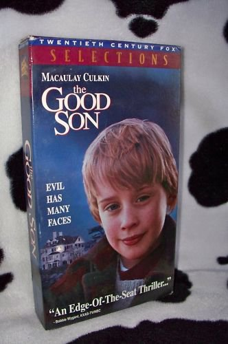 THE GOOD SON Macaulay Culkin Elijah Wood VHS MOVIE