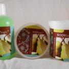 Body Logic GREEN PEAR VANILLA Body Butter Shower Gel Bath Salts BATH & BODY