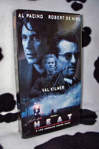 HEAT Al Pacino, Robert De Niro, Val Kilmer VHS MOVIE