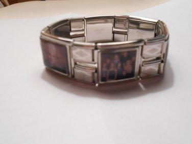 BUFFY The Vampire Slayer Custom Made 18mm Photo Charm Bracelet SPIKE Willow TARA
