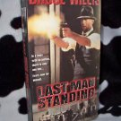 LAST MAN STANDING Bruce Willis VHS MOVIE
