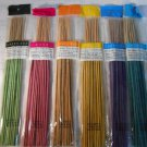 INCENSE STICKS Ocean, Rose, Jasmine, Green Tea, Lavender Or Sandalwood (#37768)
