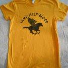 CAMP HALF-BLOOD T-Shirt Orange PERCY JACKSON Womens Medium Size M PEGASUS