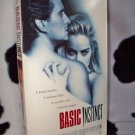 BASIC INSTINCT Micheal Douglas Sharon Stone VHS MOVIE