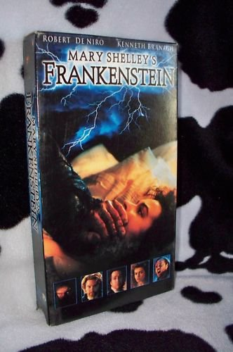 Mary Shelley's FRANKENSTEIN Robert De Niro VHS MOVIE