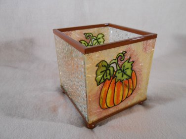 PUMPKIN Vine CANDLE HOLDER Thanksgiving Harvest (#14259)