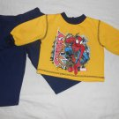 BOYS 2 Piece Set SPIDER MAN SWEATS 18 Months 18M Kids Clothes Sweatshirt Pants