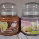 EASTER Jar SCENTED CANDLES Hyacinth Chocolate Cherry Cream Mia Bella MIA BELLA'S