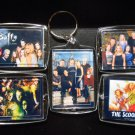 BUFFY THE VAMPIRE SLAYER Key Chains SCOOBY GANG Spike Xander Willow Tara Giles