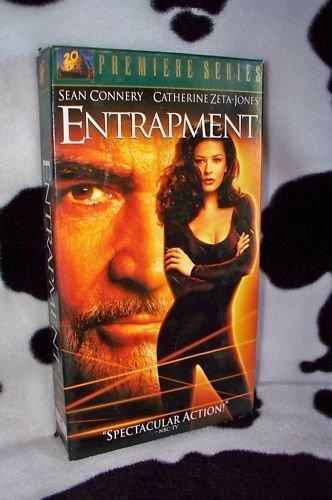 ENTRAPMENT Sean Connery Catherine Zeta Jones VHS MOVIE