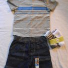 Boys SHIRT SHORTS & SOCKS Set 18M 18 Months Brand New INFANT CLOTHES