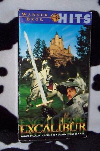 EXCALIBUR Nigel Terry Nicol Williamson VHS MOVIE
