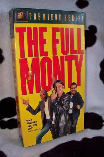 THE FULL MONTY Peter Cattaneo Robert Carlyle VHS  MOVIE