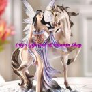 FAIRY & UNICORN Figurine Storybook Fantasy & Fairytale  (#12109)
