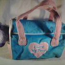 Purple Plush PONY Stuffed Animal With CARRIER Horse Purse Tote Girls (#37952)