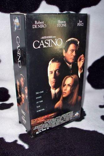 CASINO Pesci, De Niro, Stone VHS MOVIE 2 Tape Set